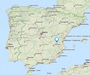 Casas de Ves map
