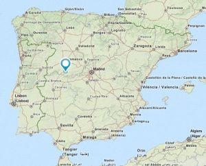 El Barco de Avila map