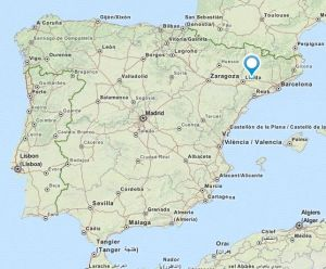 La Fuliola map