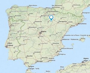Olvega map