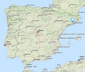 Palleja map