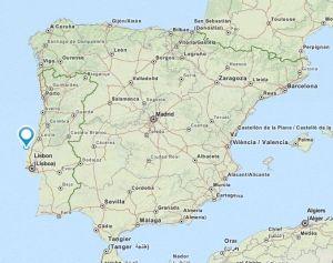 Peniche map