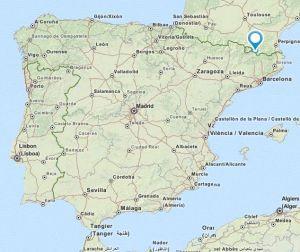 Puigcerda map