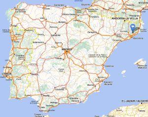 Santa eulalia map