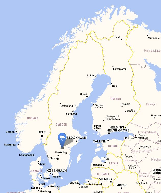 Lace Event Sweden Lace Day In Vadstena June LaceNews - Sweden map 2015