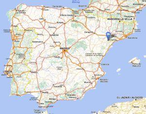 Vilalba dels arcs map