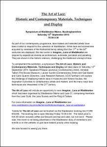 Waddesdon Symposium