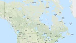 Surrey bc map