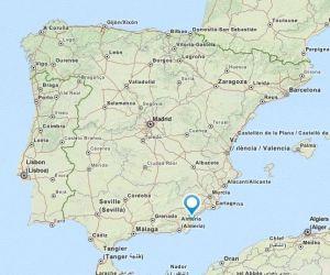 Antas map
