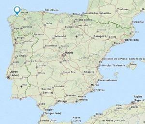 Abegondo map