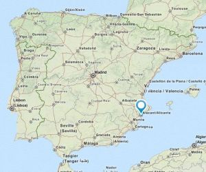 Alicante map