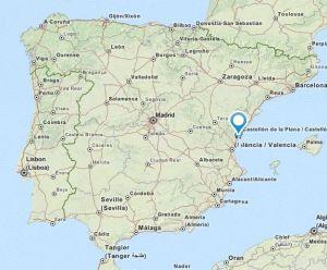 Alquerias map