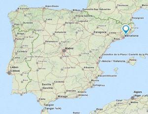 Argentona Map