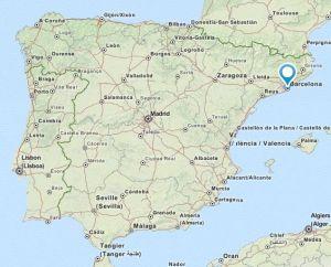 Baix Guinardo map