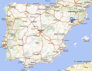Cervia map