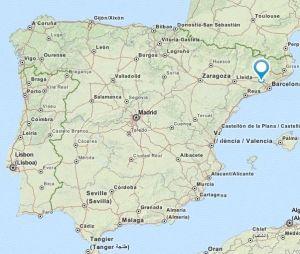 Collbato map