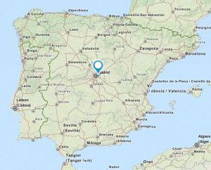 coslada map