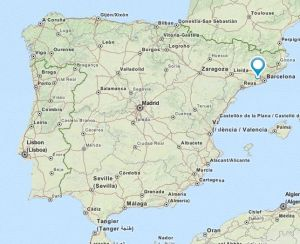 gelida map