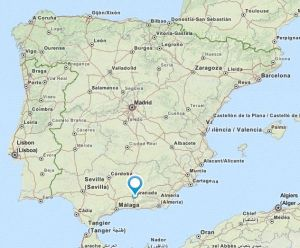 Huetor vega map
