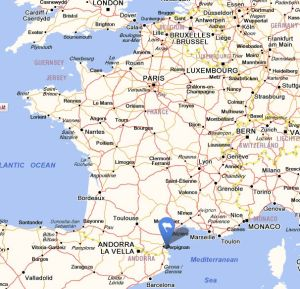 Saint cyprien map