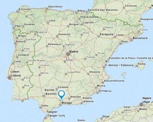 Trabuco map