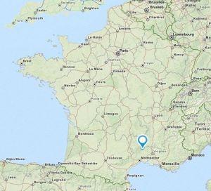 Valgalgues map