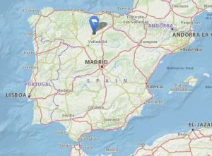 Astudillo map