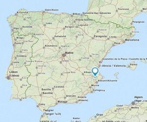 Banyeres map