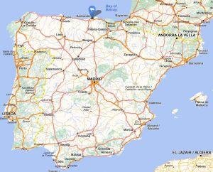 Camargo map