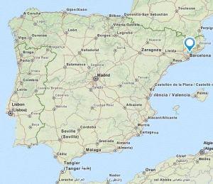 Canovelles map