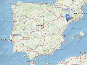 Corbera dEbra map
