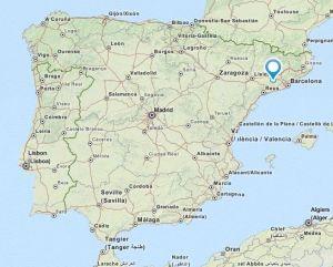 la llacuna map