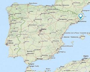 Tordera map