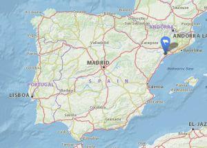 Vilanova descornalbou map