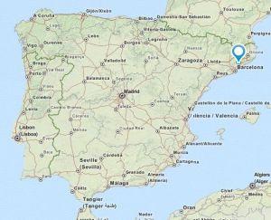 Cardedeu map