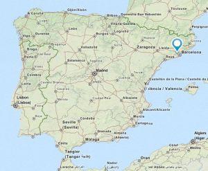 castellbisbal map