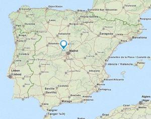 El escorial map