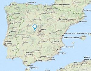 El tiemblo map