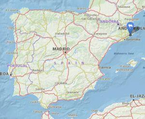 santa susanna map