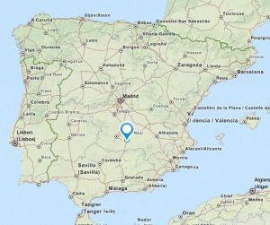valdepenas map
