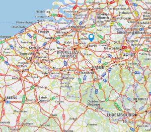 Aarschot map