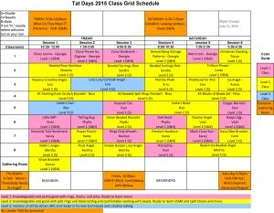 ClassGridSchedule