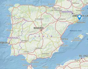Palafolls map