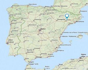 Vallfogona map