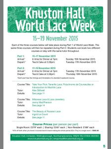 World Lace Week
