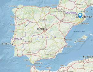 Les Masies de Voltrega map