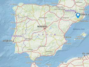 Talamanca map