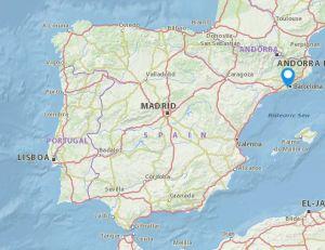 Cornella map