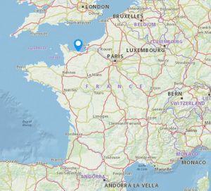 Courseulles sur mer map