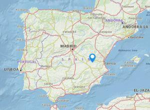 Villamalea map